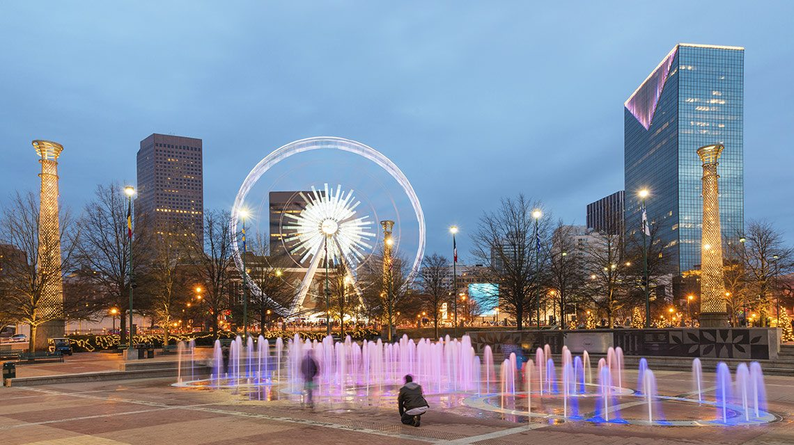 City guide: Moving to Atlanta-Olympic Park
