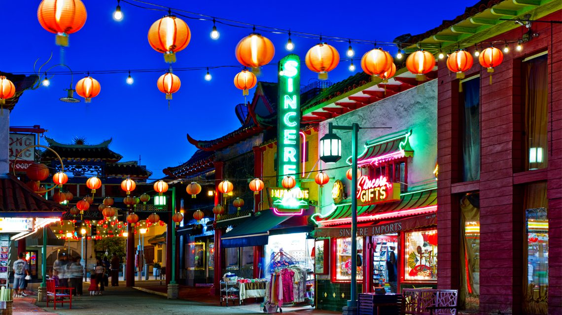 City guide: Moving to Los Angeles - China Town